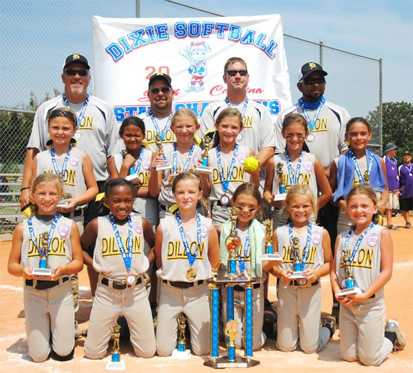 8U Dillon Dixie Darlings Need Public's Help To Get To World Series