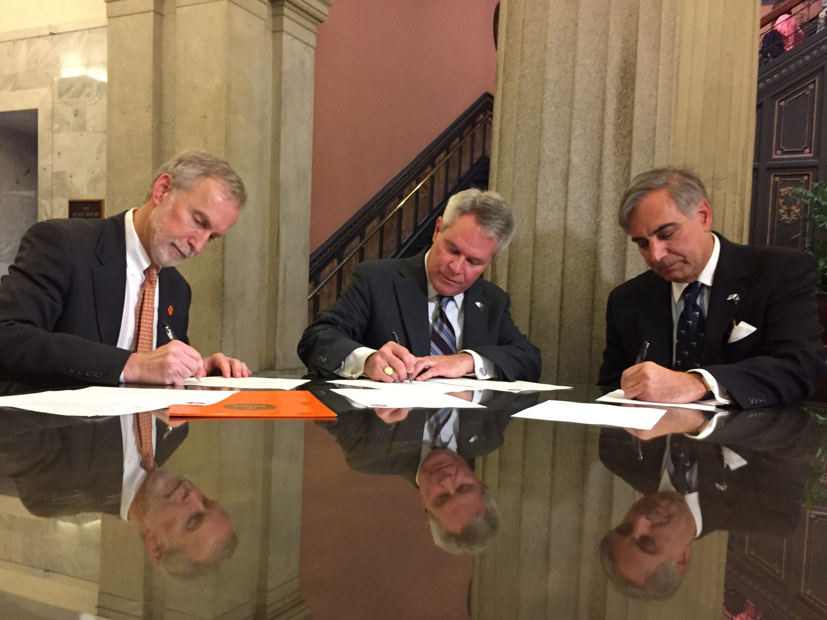 Technical Colleges Sign Letters Of Intent With Clemson And Usc The