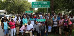 Robert McRae Memorial Avenue photo by Helen Wiggins