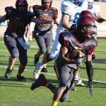 #7 Diaz Alexander carries.