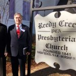 Reedy Creek Clerk Of Session Curt McSwain and Reedy Creek Pulpit Supply Dr. Douglas Kelly