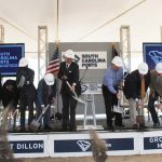 Breaking ground on Inland Port Dillon