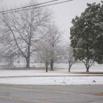 Snow in the Mount Calvary area- Photo by Johnnie Daniels