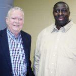 Councilman Buzzy Finklea and Douglas Pernell