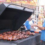 Grill of Food Vendor