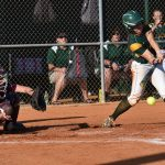 #2 Madison Owens hits grounder to pitcher. Out three. After two innings, Latta-1, Buford-0.