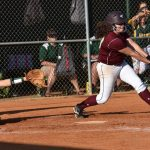 #10 for Buford, Lexie Sullivan,  flies out to right.