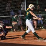 #18 for Latta, Jayla,  hits grounder to first. Out.