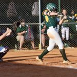 #6 for Latta, Kyra Grant, pops one up to second.