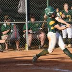 #2 for Latta, Madison Owens, hits grounder to shortstop.