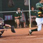#9 Riana Green swings.