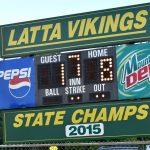 Latta wins, 8-1