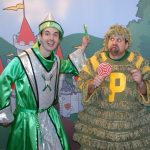 Delta Dental of South Carolina's Tooth Wizard and PlaqueMan from Land of Smiles program