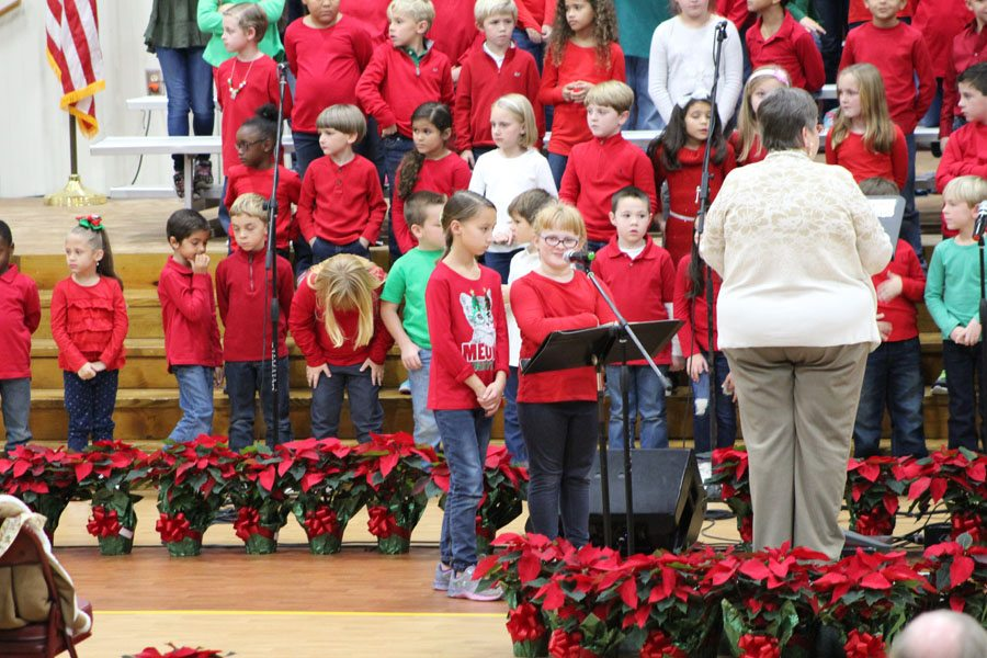 Dillon Christian School recently held its annual Christmas program. It was a delightful tribute to the Christmas season. (Contributed Photos)