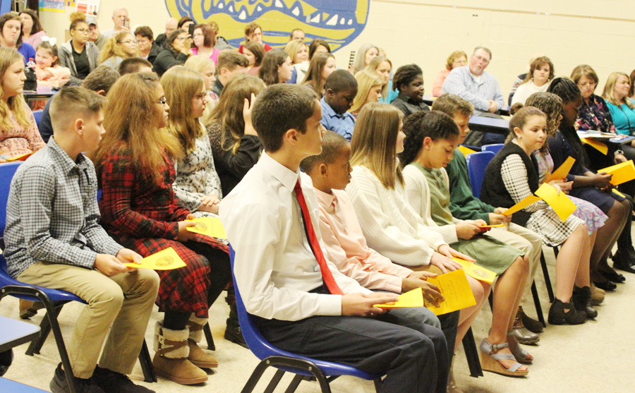 Lake View Holds Junior Beta Club Induction – The Dillon Herald